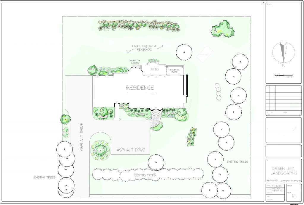 What Does a Landscape Design Master Plan Look Like?