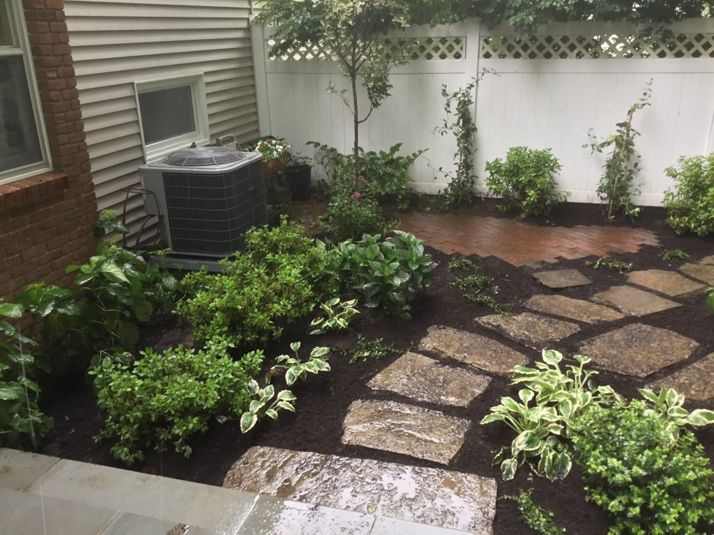 Patio Construction Landscape Design For Small Spaces New Canaan Ct Green Jay Landscaping
